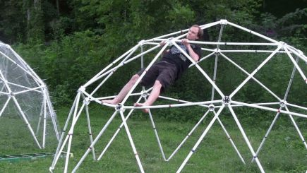 Zip Tie Domes | Geodesic Dome Greenhouse Kits + Chicken Coop Kits for Sale