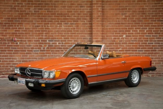 My favorite car in my favorite color mercedes motoring for 1978 mercedes benz 450sl