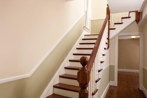 chair rail upstairs