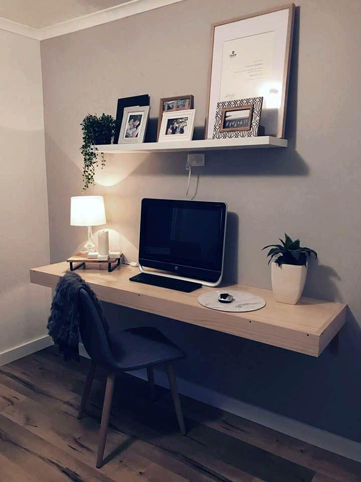 Neutral Rosenblum Floating Desk Just On Homesable Com Computer