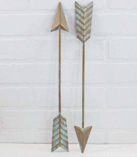 Arrow Wall Decor For Nursery : Super xmas sale pre cyber metal wall arrow by