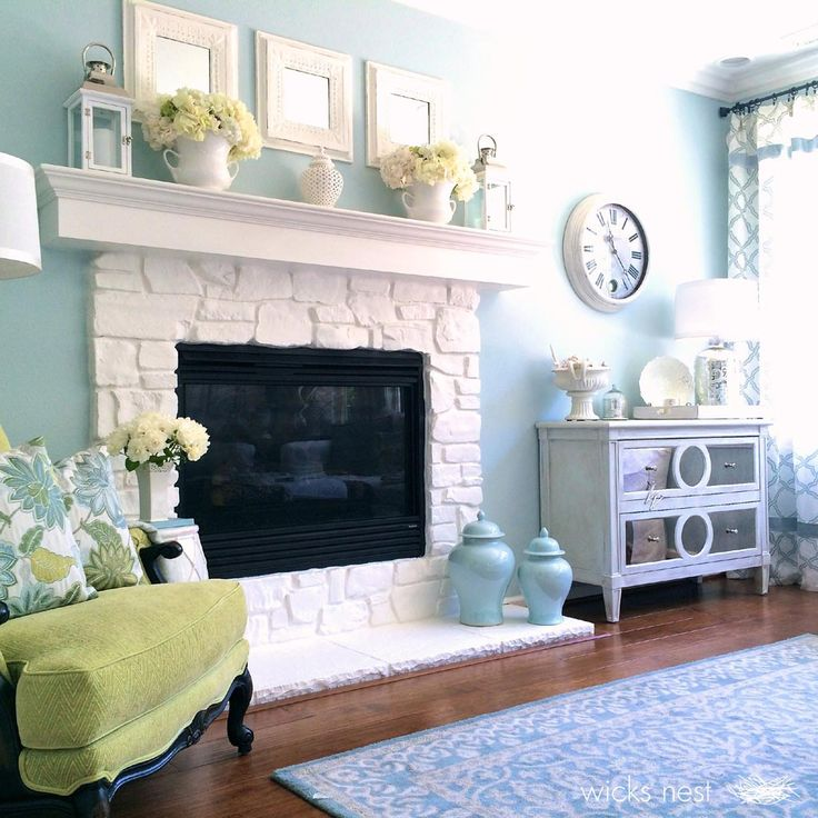 25 best ideas about painted stone fireplace on pinterest painted rock fireplaces animal hide. Black Bedroom Furniture Sets. Home Design Ideas