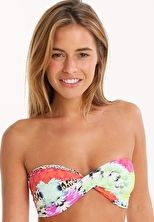 Phax Tropical Flowers Twist Bandeau Top - Multi The Phax Tropical Flowers Twist Bandeau is a bright and colourful addition to your bikini collection with its kaleidoscopic floral and animal print http://www.comparestoreprices.co.uk/january-2017-9/phax-tropical-flowers-twist-bandeau-top--multi.asp