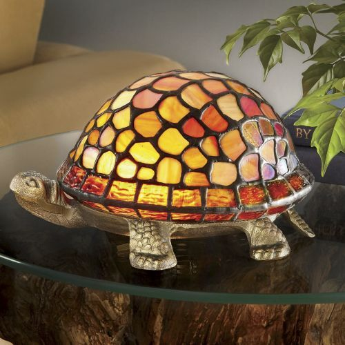Stained Glass Turtle L& from Ginnyu0027s ® & 74 best stained glass images on Pinterest   Stained glass Turtles ... azcodes.com