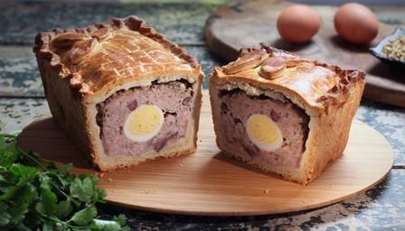 BBC - Food - Recipes : Raised pork and egg pie - Paul Hollywood