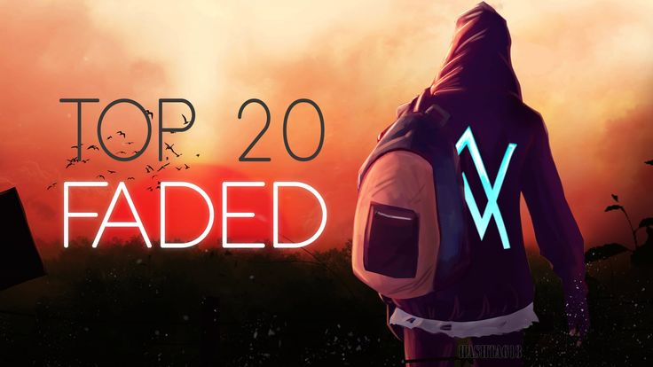 Top 20 Faded (Alan Walker) Ultimate Remix || Faded mix collection 2016