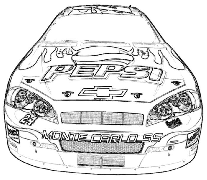 2013 Chevy Camaro Coloring Pages