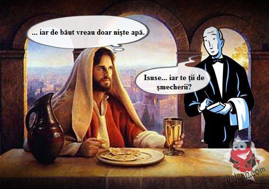 Isus si apa
