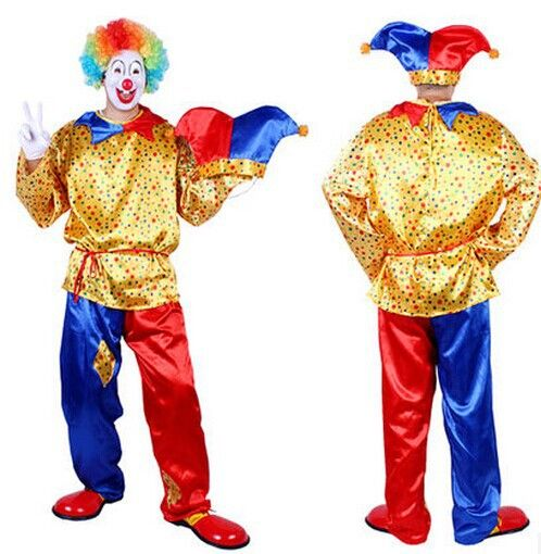 >> Click to Buy << halloween clown costumes for men dot clown costumes for adults clown suit halloween funny cosplay funny costumes men clothing #Affiliate