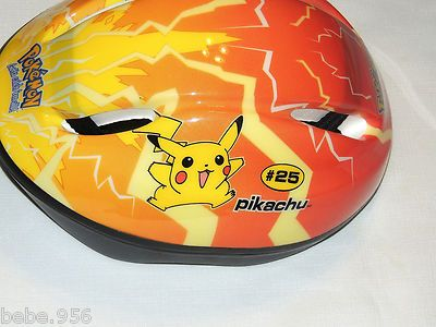 Pokemon Pikachu Kids Bicycle Safety Helmet Ages 5 8 Ebay