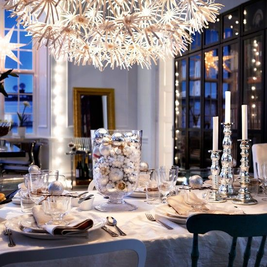 New Year's Eve Decorations | 25 Beautiful New Year's Eve and Christmas Table Decorations