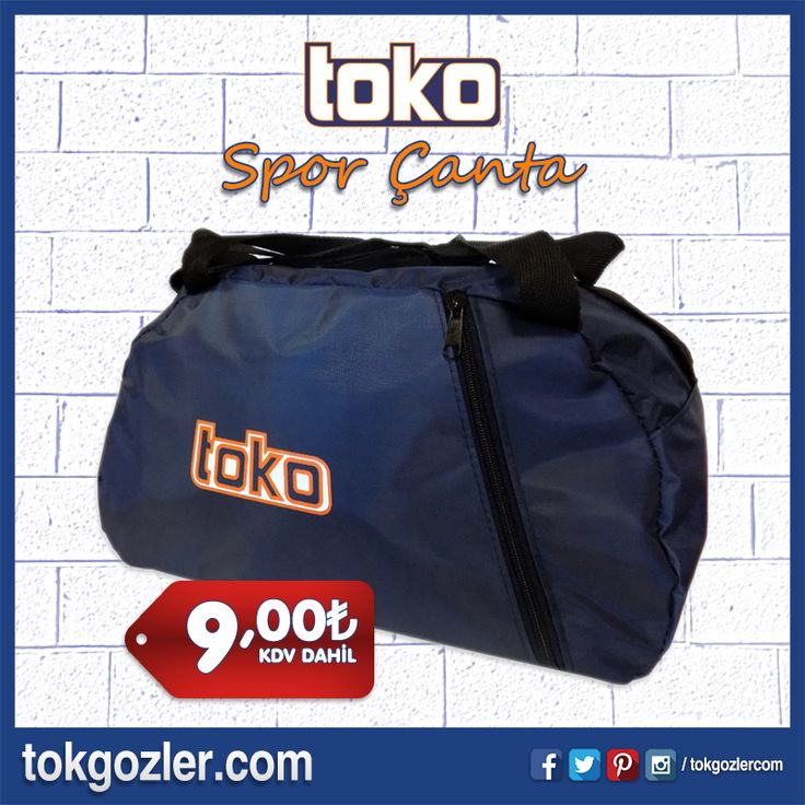 TOKO SPOR ÇANTA  #sporcantasi #canta #spor #gezi #seyahat #bursa #kocaeli #istanbul #ankara #fitness #tokgozlercom #tokgozler