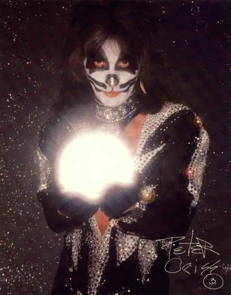 Peter Criss in Destroyer / Rock and Roll Over Era Costume