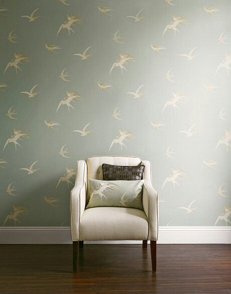 Sanderson wallpaper & print