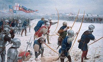 Battle of Towton 1461, by Graham Turner. [The Battle of Towton in the Wars of the Roses