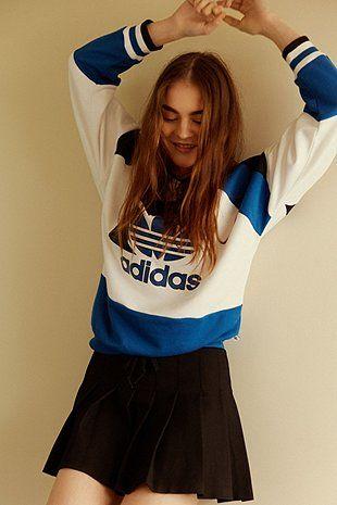 adidas Vintage Run Baggy Sweatshirt