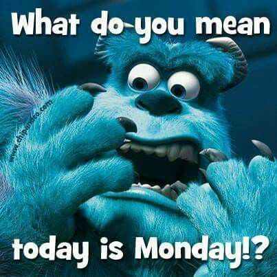 What Do You Mean Today Is Monday!? monday monday quotes monday pictures monday images