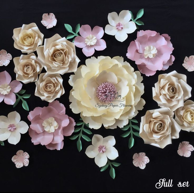New mini paper flower backdrops are available in our shop. Choose your colour combo and build your set within your own budget. These ones we ship worldwide from Sydney, Australia. Please note international postage takes up to 2 weeks.