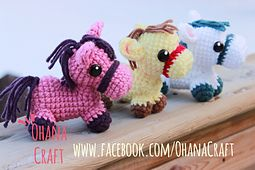 Free Ravelry Crochet Pattern from Ohana Craft...these are adorable!!