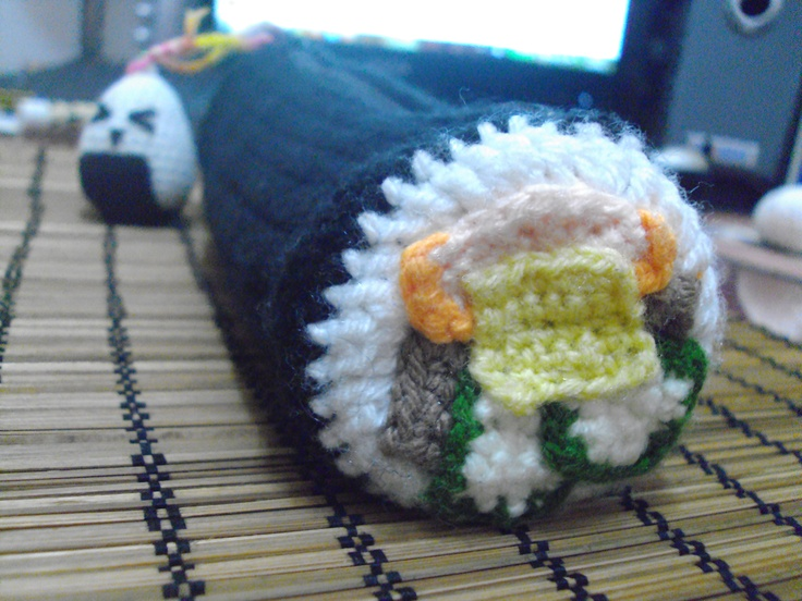 Sushi pencilcase :3
