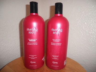 If you have red hair and looking for a shampoo&conditioner that will help maintain your color this stuff is pretty good. It deposits color back into your hair. On sale now at Sally's for $7.50!