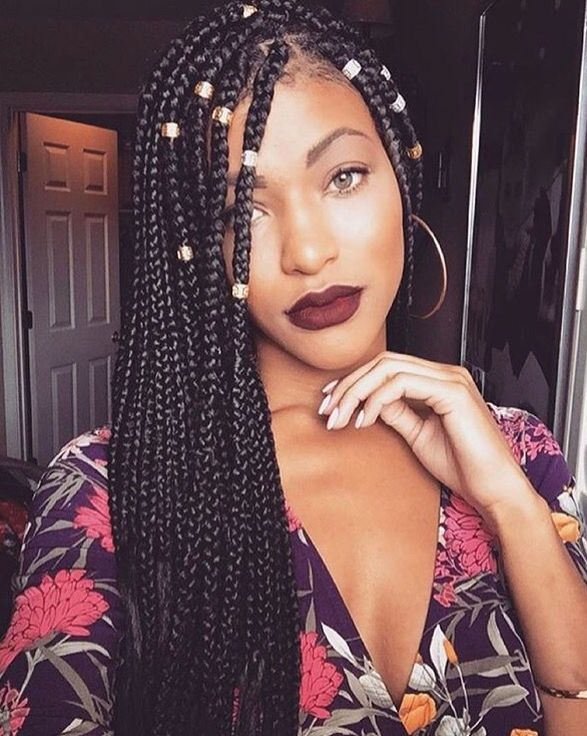 Thinking about getting braids this summer. I'm not to fond of how long it takes to do them though lol