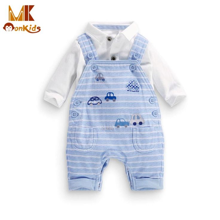 Monkids 2016 Autumn Shirt+Suspenders Baby Romper Striped Baby Boy Clothing Set Baby Boy Clothes Coveralls for Newborns Leisure //Price: $US $11.37 & FREE Shipping //     #clothing