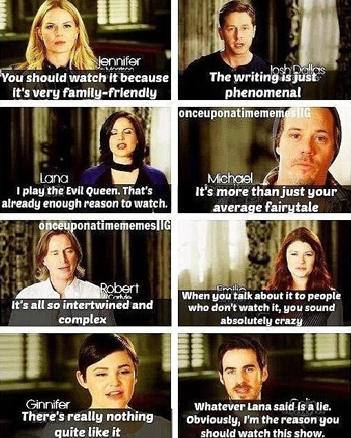 Lana's and Colin's. Those guys are hilarious. And Emilie de Ravin is totally right!!