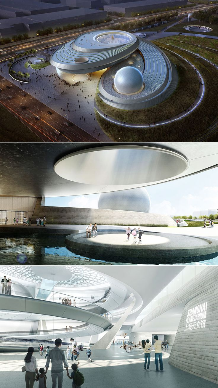 Architettura alle stelle per il nuovo Shanghai Planetarium