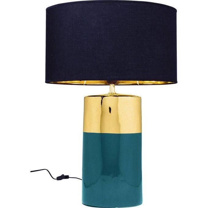 Lampe De Table Zelda 64 Cm Bleu Kare Design La Redoute En 2020 Lampes De Table Kare Design Lampe
