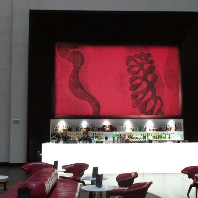 Vintaged Lobby Bar at the Hilton Brisbane Hotel