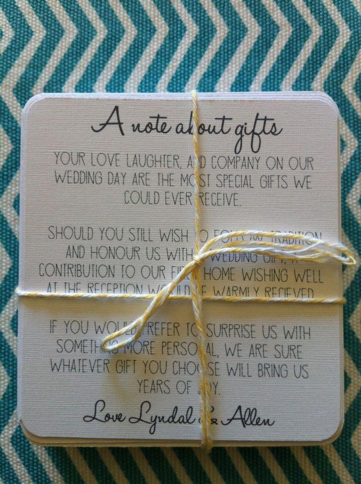 Money Wedding Gift Wording: 21 Best Monetary Gift Wording Images On Pinterest
