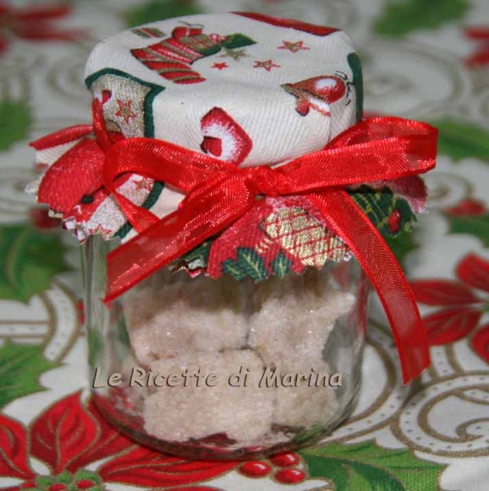 Zollette di zucchero aromatizzato, idea regalo di Natale