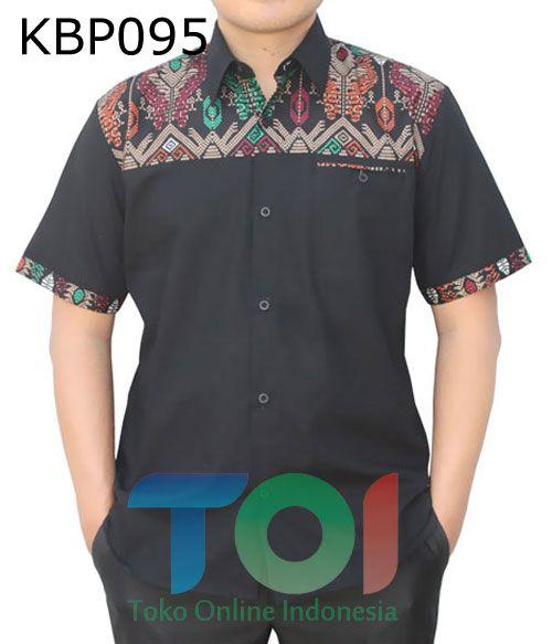 – Kode KBP095 – Batik printing kombinasi katun poplin – Jahitan rapih – Tersedia berbagai ukuran – Harga Rp.200.000 – Harga belum termasuk ongkir