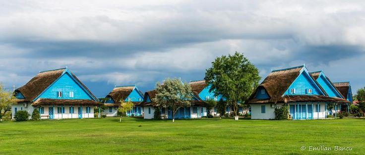 Traditional architecture from the Danube Delta-photo :Emilian Bancu http://tripsandtipsinromania.com/danube-delta/