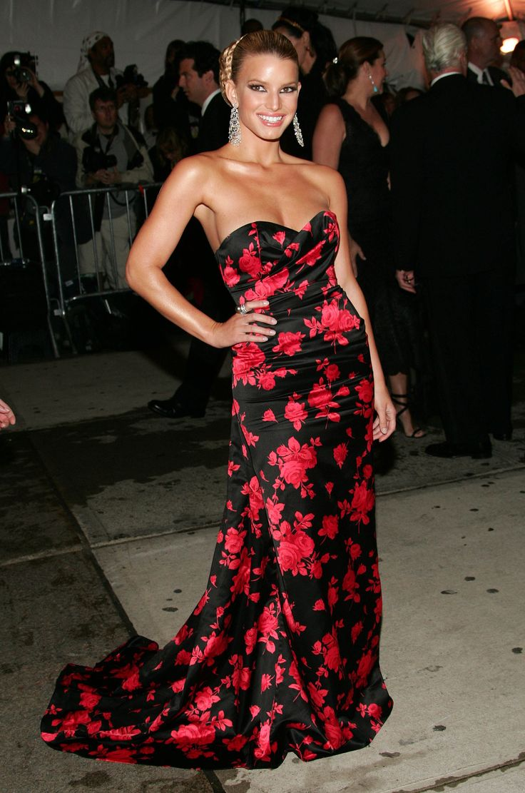 Jessica Simpson in Michael Kors in 2005 - The Best Met Gala Dresses of All Time