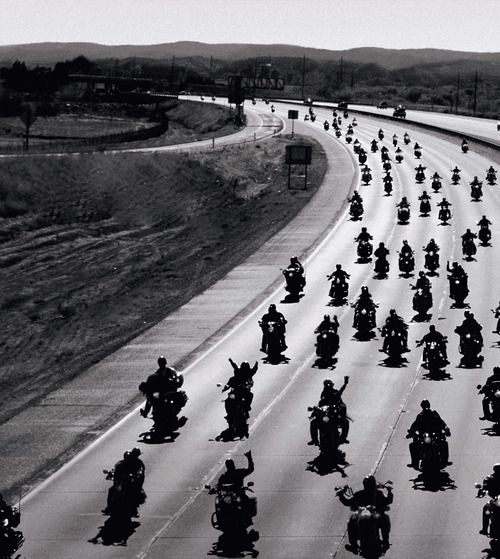 Long ride home....in the 70's this wasn't an unusual sight.  I remember.