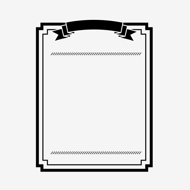 Black Border Label Element Business Black Frame Png And Vector With Transparent Background For Free Download Black And White Cartoon Black And White Abstract Prints For Sale