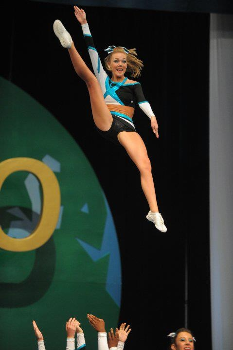 Maddie Gardner, #cheer, competition, stunt,  cheerleading, cheerleader from Cheer Extreme: Maddie Gardner & Erica Englebert  board http://pinterest.com/kythoni/cheer-extreme-maddie-gardner-erica-englebert/ m.20.4  #KyFun