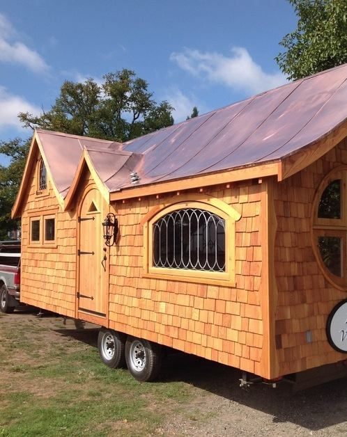 A little over the top artsy tiny house.   pineafore-tiny-home-on-wheels-by-zyl-vardos-0034