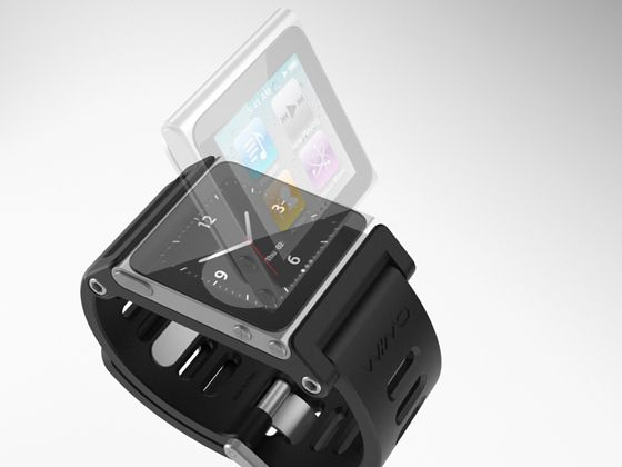 TikTok snap in watchstrap for the new iPod nano