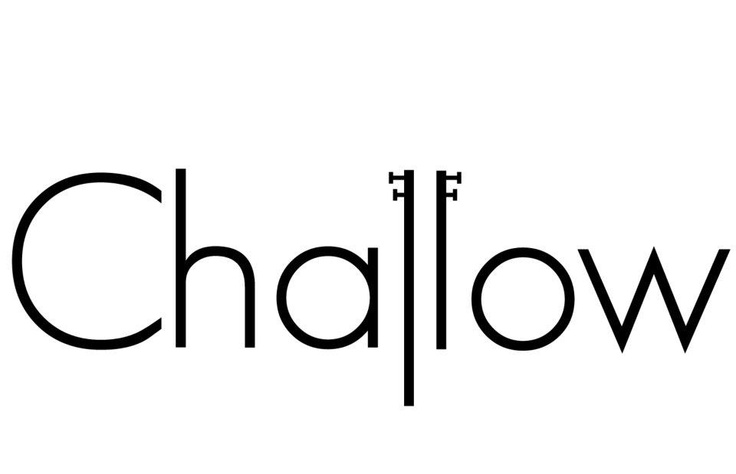 Logo-Challow (Black and white)
