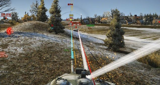 World Of Tanks mods : 9.20.1.1 Tracers By KoCoi