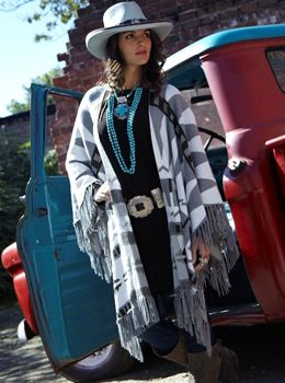 We now carry designer Tasha Polizzi at Eliza's Boutique! Beautiful southwest…
