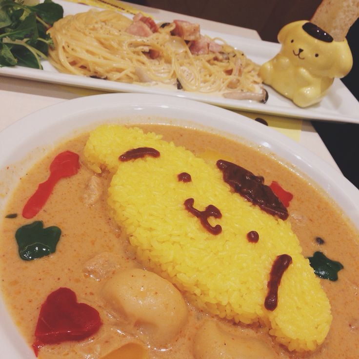 Pompompurin Cafe's Curry   www.the.rainbowholic.me