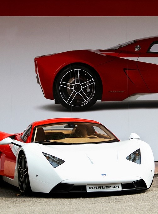 Marussia- first Russian sports car that was successful