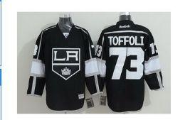 Los Angeles Kings 73 Tyler Toffoli Black NHL Jerseys
