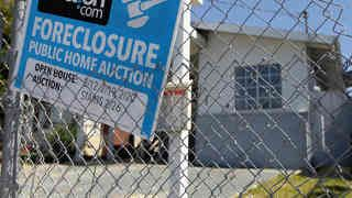 "journalist Laura Gottesdiener examines the devastating legacy of the foreclosure crisis and how much of the so-called recovery is a result of large private equity firms buying up hundreds of thousands of foreclosed homes. More than 10 million people across the country have been evicted from their homes in the last six years. Her new book, ""A Dream Foreclosed:"