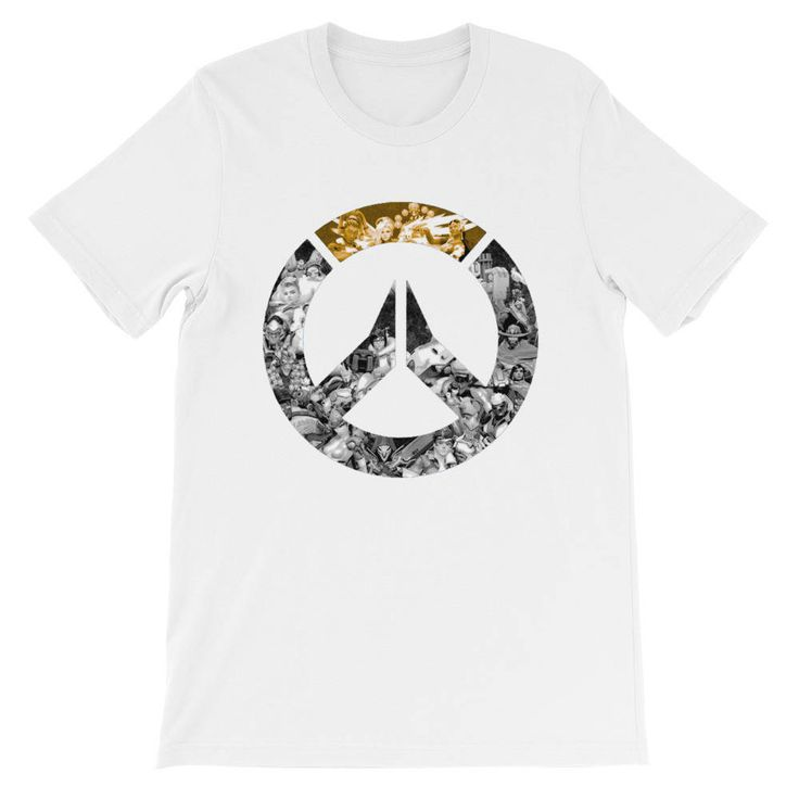 Overwatch Video Game Unisex Short Sleeve Jersey T-Shirt All Heroes