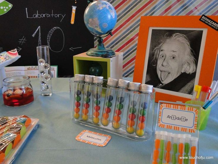 Mad Science Birthday Party Ideas | Photo 23 of 26 | Catch My Party